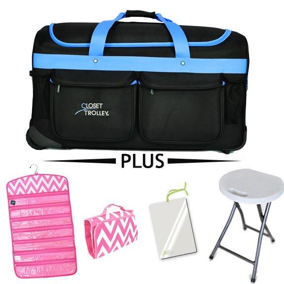 Closet Trolley Dance Bag With Rack Bundle Pack