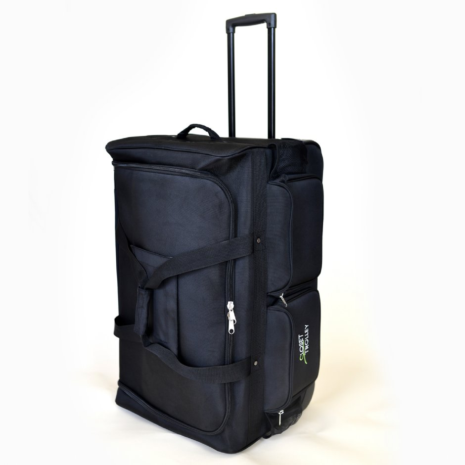 The Closet Trolley Rolling Duffel Bag Dance Bag With
